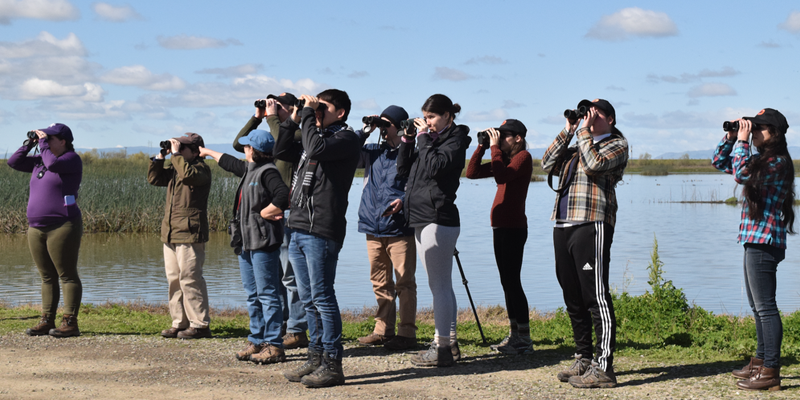 A group photo of our OSU birding club